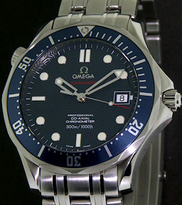 Pre-Owned OMEGA SEAMASTER JAMES BOND CO-AXIAL