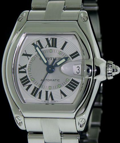 Pre-Owned CARTIER ROADSTER LARGE AUTOMAT