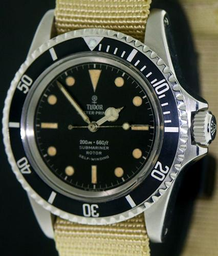 Tudor Oyster Prince Submariner 7928 Pre Owned Mens Watches