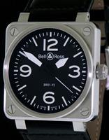 Pre-Owned BELL & ROSS AVIATION 46MM SS