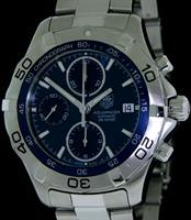 Pre-Owned TAG HEUER AQUARACER AUTOMAT CHRONOGRAPH