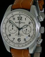 Pre-Owned BELL & ROSS VINTAGE KHAKI DIAL CHRONO