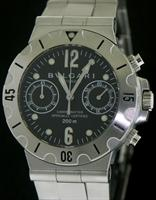 Pre-Owned BVLGARI DIAGONO SCUBA CHRONOGRAPH