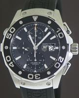 Pre-Owned TAG HEUER AQUARACER 500M CHRONOGRAPH