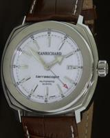 Pre-Owned JEANRICHARD STEEL WHITE DIAL TERRASCOPE