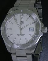 Pre-Owned TAG HEUER AQUARACER QUARTZ IVORY DIAL