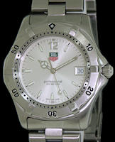 Pre-Owned TAG HEUER SPORT 2000 QUARTZ SILVER DIAL