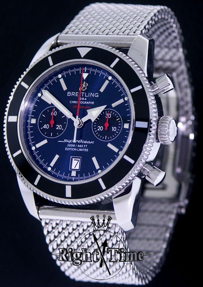 breitling superocean heritage 125 a23320 pre owned mens
