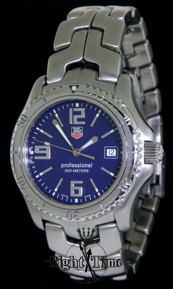 Pre Owned Factory >> Tag Heuer Link Professional Diver Quartz wt1113.ba0551 - Pre-Owned Mens Watches