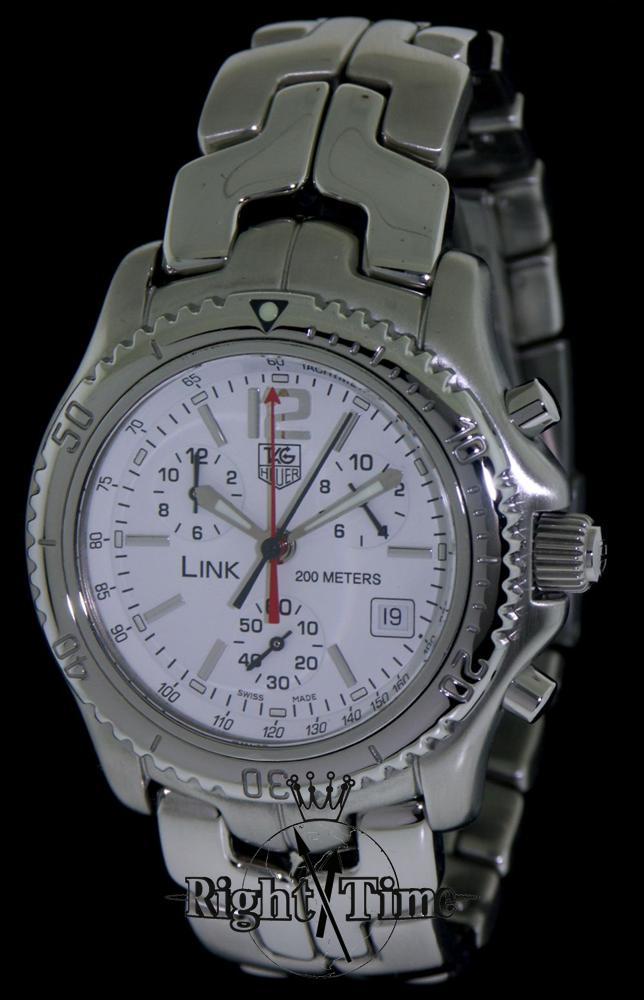 tag heuer link quartz chronograph ct1117 ba0551 pre