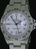 Pre-Owned ROLEX EXPLORER II GMT WHITE DIAL