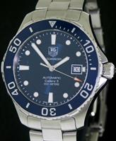 Pre-Owned TAG HEUER AQUARACER AUTOMATIC BLUE