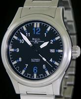 Pre-Owned BALL FIREMAN 43MM BLACK/BLUE