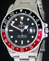 Pre-Owned ROLEX OYSTER GMT MASTER II COKE