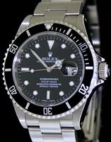Pre-Owned ROLEX SUBMARINER BLACK DATE