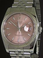 Pre-Owned ROLEX DATEJUST SALMON METALIC DIAL