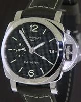 Pre-Owned OFFICINE PANERAI LUMINOR MARINA 1950 3DAYS GMT