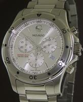 Pre-Owned MOVADO SUB-SEA SILVER CHRONOGRAPH