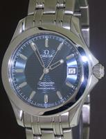 Pre-Owned OMEGA SEAMASTER AUTOMATIC BLUE DIAL