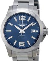 Pre-Owned LONGINES CONQUEST BLUE DIAL AUTO