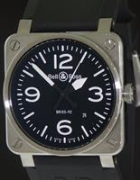 Pre-Owned BELL & ROSS AVIATION AUTOMATIC BLACK DIAL