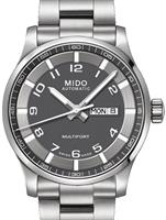 Pre-Owned MIDO MULTIFORT GRAY DIAL ARABIC