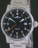 Pre-Owned FORTIS FLIEGER AUTOMATIC DATE BRACELE