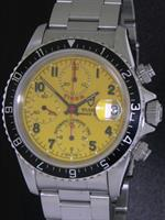 Pre-Owned TUDOR TIGER PRINCE DATE YELLOW