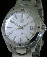 Pre-Owned TAG HEUER LINK STEEL SILVER DIAL
