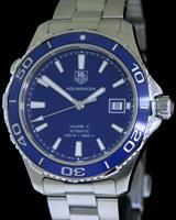 Pre-Owned TAG HEUER AQUARACER BLUE CERAMIC BEZEL