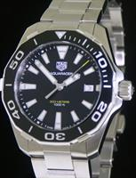 Pre-Owned TAG HEUER AQUARACER BLACK QUARTZ