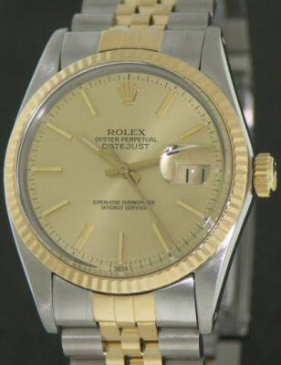 Pre-Owned ROLEX DATEJUST 18KT/STEEL