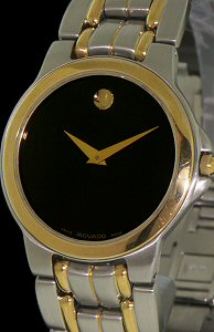Pre-Owned MOVADO TWO TONE