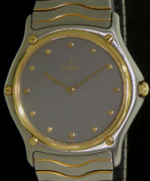 Pre-Owned EBEL WAVE 18KT GOLD AND STEEL