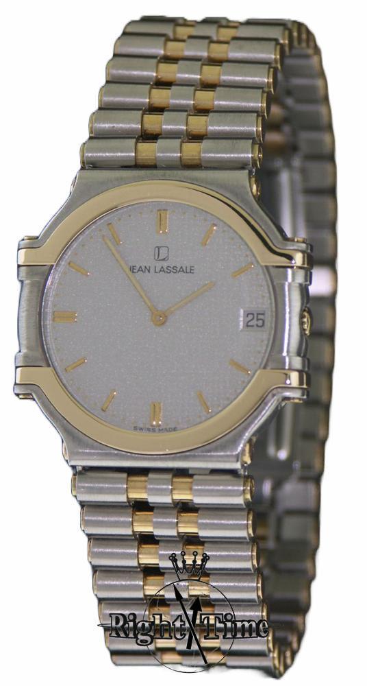 Jean Lassale 14kt Gold Steel Thalassa 7779 019 Pre Owned