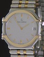 Pre-Owned JEAN LASSALE 14KT GOLD/STEEL THALASSA