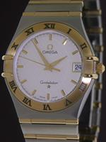 Pre-Owned OMEGA CONSTELLATION 18KT AND STEEL