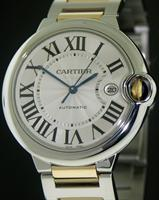 Pre-Owned CARTIER BALLON BLEU GOLD AND STEEL