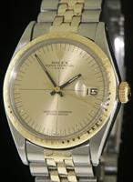 Pre-Owned ROLEX ZEPHYR DATE 14KT GOLD/STEEL
