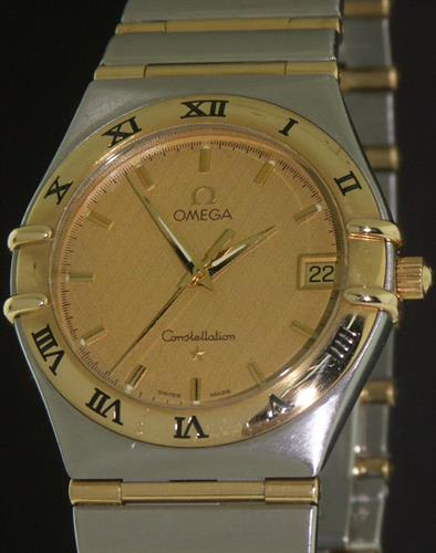 4a7b6b8d5c6e5 Omega Constellation 18kt Ss 1212.10.00 - Pre-Owned Mens Watches