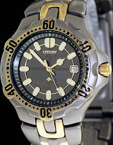 Pre-Owned CITIZEN TITANIUM DIVERS