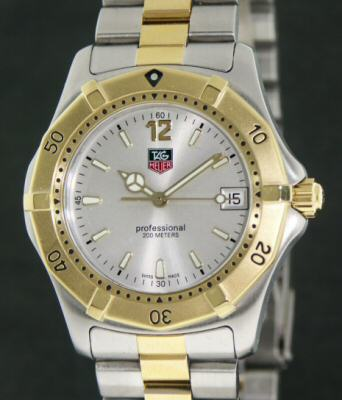Pre-Owned TAG HEUER DIVERS 2000 SILVER DIAL