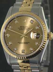 Pre-Owned ROLEX DATEJUST 18KT/SS