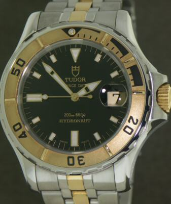 Pre-Owned TUDOR PRINCE DATE HYDRONAUT