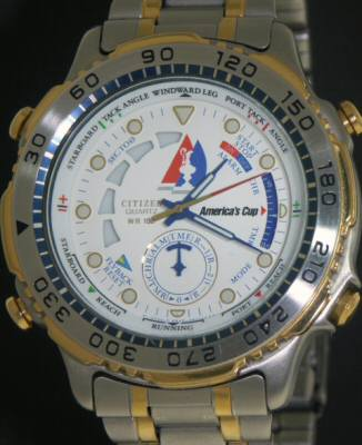 Pre-Owned CITIZEN AMERICA`S CUP  TIMER
