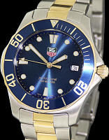 Pre-Owned TAG HEUER AQUARACER QUARTZ BLUE DIAL