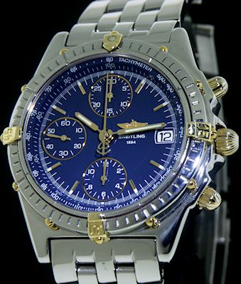 Breitling Automatic Chronomat 18kt Steel B13050 1 Pre Owned Mens
