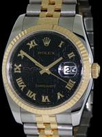 Pre-Owned ROLEX DATEJUST 18KT/SS JUBILEE DIAL