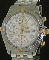 Pre-Owned BREITLING CROSSWIND 18KT GOLD & STEEL
