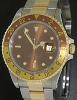 Pre-Owned ROLEX GMT-MASTER II ROOT BEER